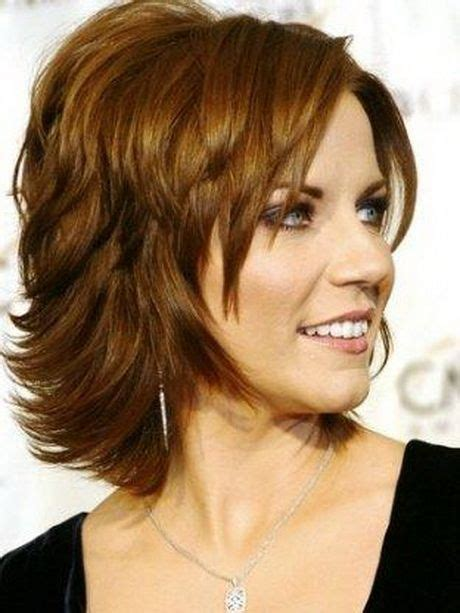 chin length fine thin round face 60 yr hairstyle best 25 over 40 hairstyles ideas on pinterest