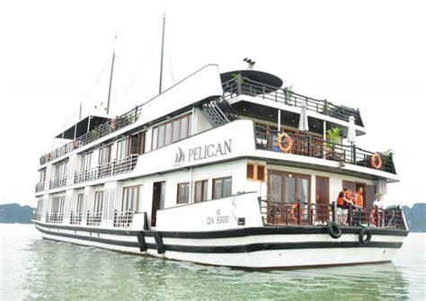 pelican junk boat halong bay hanoi halong 2d 1n pelican cruises