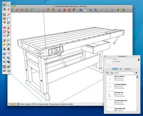 woodworking design software how to use sketchup to get the most from a digital