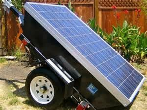 solar powered generator prepare with emergency solar