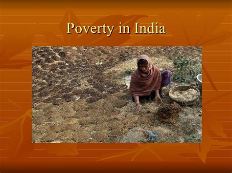 In India by Poverty In India