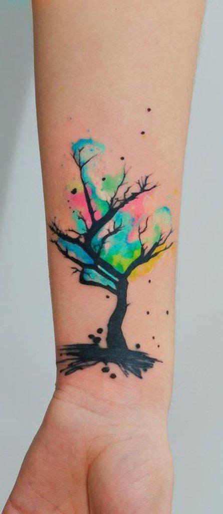 watercolor tree tattoo sleeve 100 most beautiful watercolor ideas tattoos