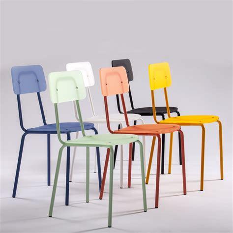 sedie metallo colorate sedia colorata di design in metacrilato e metallo quot moodern