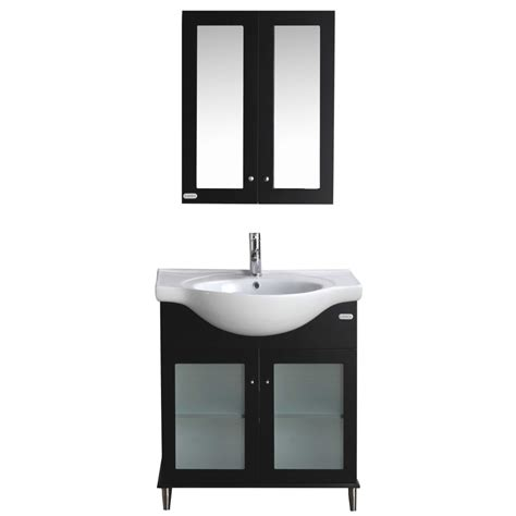 24 inch bathroom vanity and sink eviva tux 174 24 quot inch espresso bathroom vanity with a white