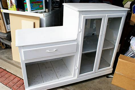 play kitchen from furniture dishfunctional designs furniture upcycled into