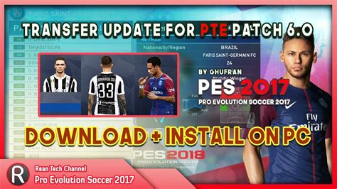 Pes 2017 Pte Patch 6 0 Pc pes 2017 update transfer for pte patch 6 0