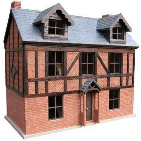 1 24 scale dolls houses tudor house 1 24 scale built decorated dolls houses bch2 from bromley craft
