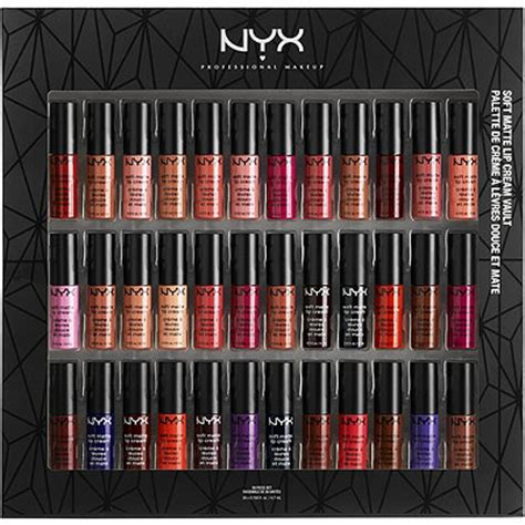 nyx soft matte lip ulta nyx cosmetics soft matte lip vault set ulta