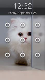 cute pattern lock kitty cat pattern lock screen android apps on google play