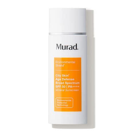 Murad Cityskin Detox Treatment by Murad City Skin Age Defense Broad Spectrum Spf 50 Pa