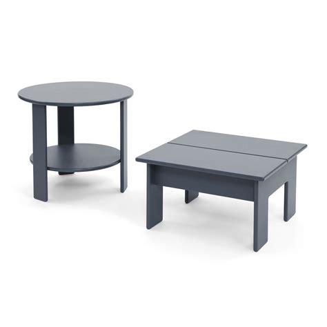 Ottoman Side Table Versatile Outdoor Ottoman Side Table Loll Designs