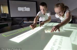 Essay On Future Classrooms by The Trek Style Classroom Of The Future Replacing Blackboards And Books Daily Mail
