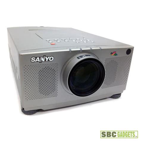 sanyo pro xtrax l sanyo pro xtrax lcd digital multimedia video projector