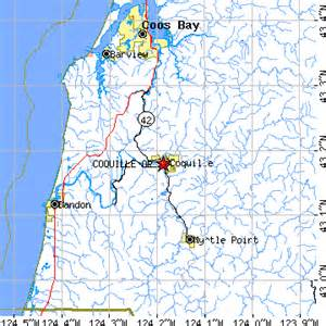 coquille oregon map coquille oregon or population data races housing
