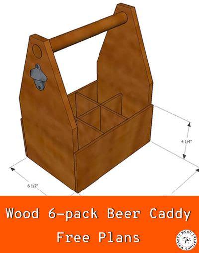 woodworking plans wood beer caddy plans  pack beer