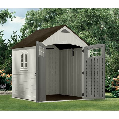Suncast Sutton Shed by Furniture Interesting Suncast Storage Shed For Outdoor