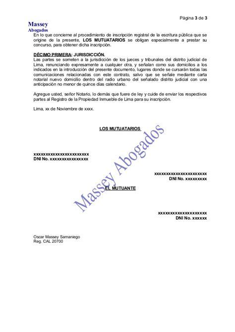 Carta De Pago Y Cancelacion Hipoteca Modelo De Minuta Reconocimiento De Deuda Mutuo Y Constituci 211 N De Hip