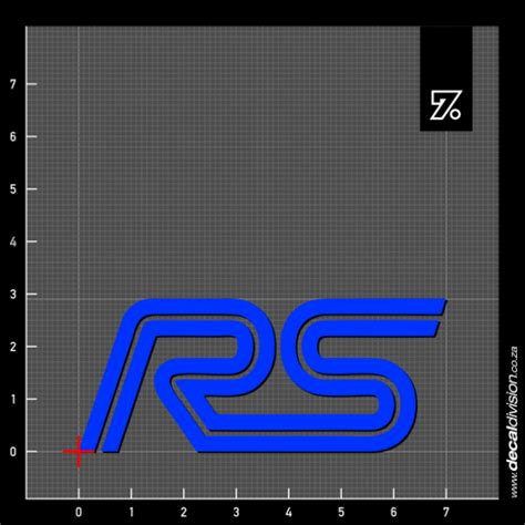 Aufkleber Ford Focus by Ford Focus Rs Logo Sticker