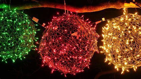 how to make your own holiday light balls cnet