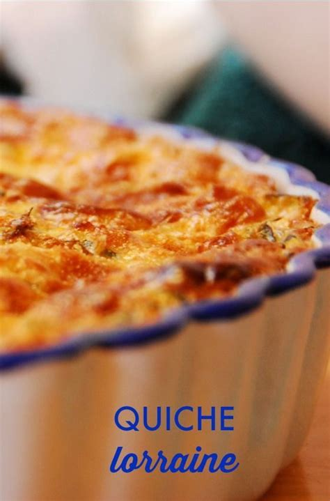 Quiche Lorraine Pie Large this quiche lorraine recipe is modified from emeril lagasse so easy and for sunday