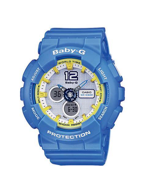 Casio Baby G Original Ba 120 9bdr casio baby g uhr ba 120 2ber analog digital hellblau ebay