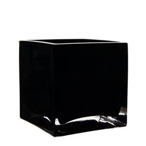 black 4 quot cube vase wholesale lot square vases 12pcs