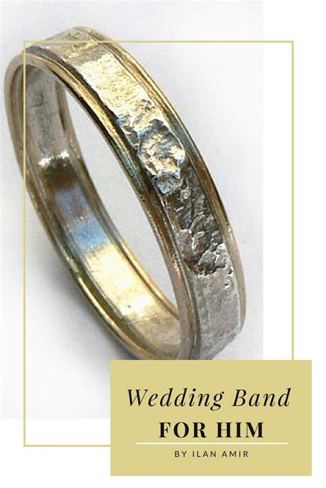 wedding band   textured sterling silver band