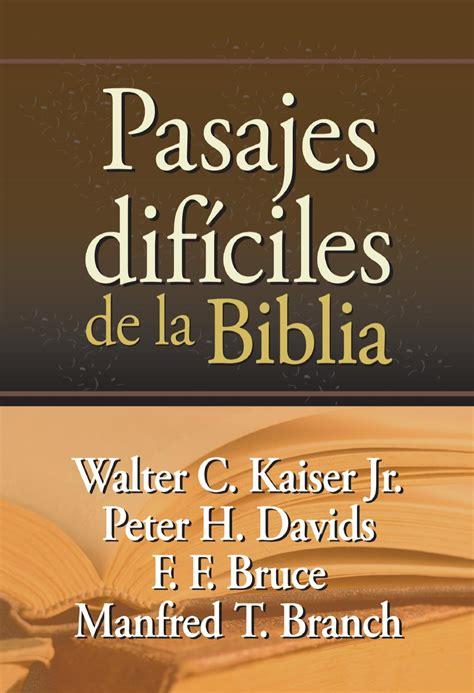 preguntas cristianas de mujeres de la biblia pasajes dif 237 ciles de la biblia by editorial mundo hispano