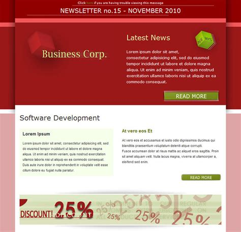business email newsletter templates business email templates sles free