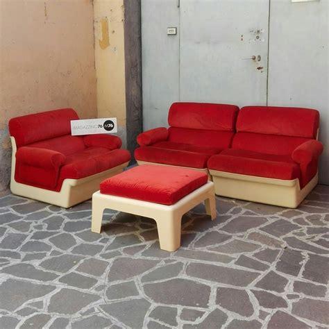 poltrona due posti divano modulare a due posti e poltrona chaise longue anni