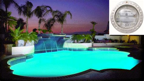 color changing pool light led swimming pool lights pros and cons