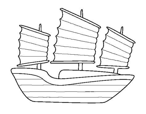 barcos para pintar on line desenho de navio oriental para colorir colorir