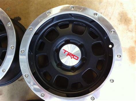 Toyota Beadlock Rims Toyota Tacoma Trd Black Beadlock Rims Find The Classic