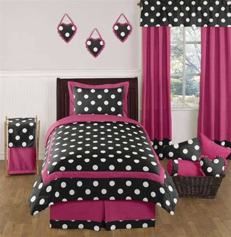 pink teen bedding hot pink and black print comforter bedding sets for