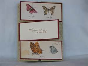 handmade for you card fancy fold butterflies by 2sparrowsstudio