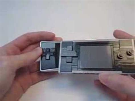lego gameboy tutorial my homemade lego gameboy advance sp version doovi