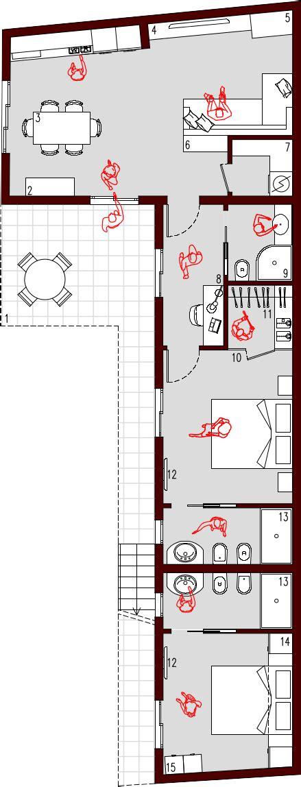Planimetria Appartamento 70 Mq by Progetto 70 Mq Architettura A Domicilio 174