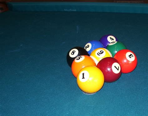 How To Rack Pool Balls by Nine