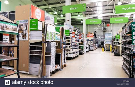 diy store the interior of a homebase diy store stock photo royalty