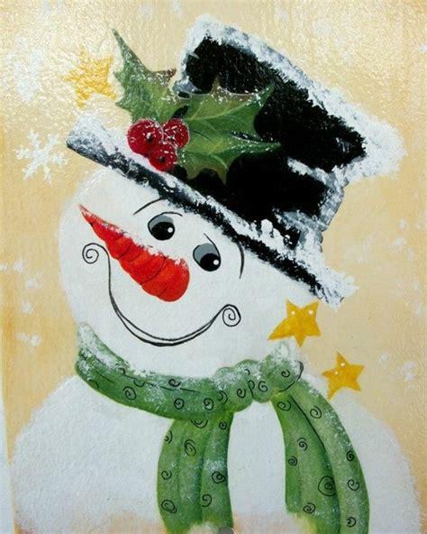 Fensterdeko Weihnachten Schneemann by Feine Fensterbilder Zu Weihnachten Und Winterzeit