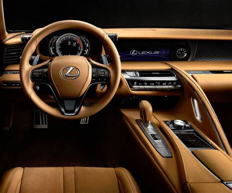 lexus car interior all 2017 lexus lc 500 sportscoupe features v8 engine