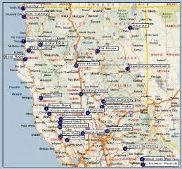 northern california cing map northern california regional directory
