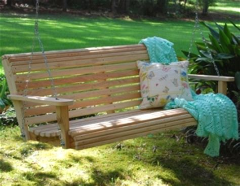 comfortable porch swing get rid of the stress in your comfortable porch swing