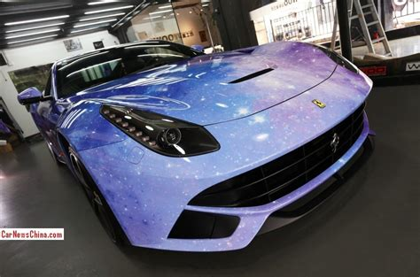 galaxy ferrari ferrari f12berlinetta is the galaxy in china
