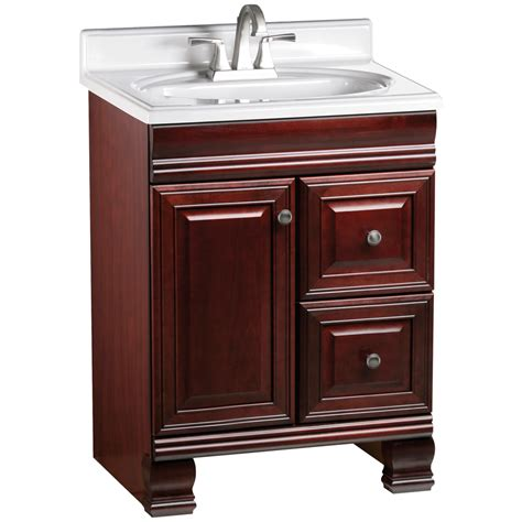 Rsi Bathroom Vanities Shop Estate By Rsi Cambridge Burgundy Traditional Bathroom