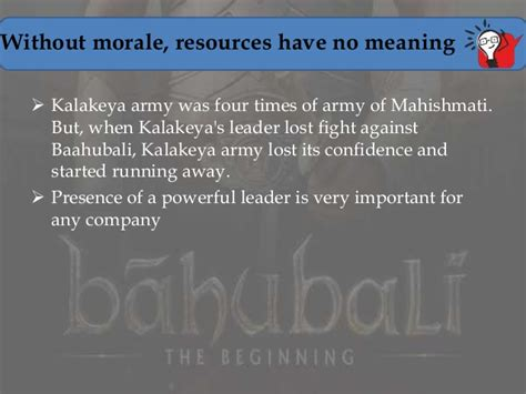 Mba Meaning Fighting by Lessons From Bahubali