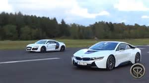 2017 audi r8 vs bmw i8 review comparison