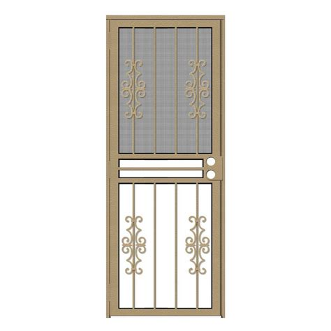all season door and glass unique home designs 32 in x 80 in watchman duo