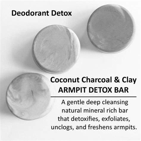 Armpit Detox Really Work by Armpit Detox Bar Coconut Charcoal Clay Pictures Of