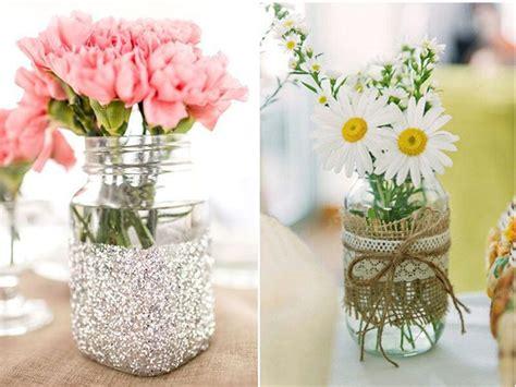 floreros con frascos de vidrio 10 ideas para tu hogar reutilizando frascos de vidrio